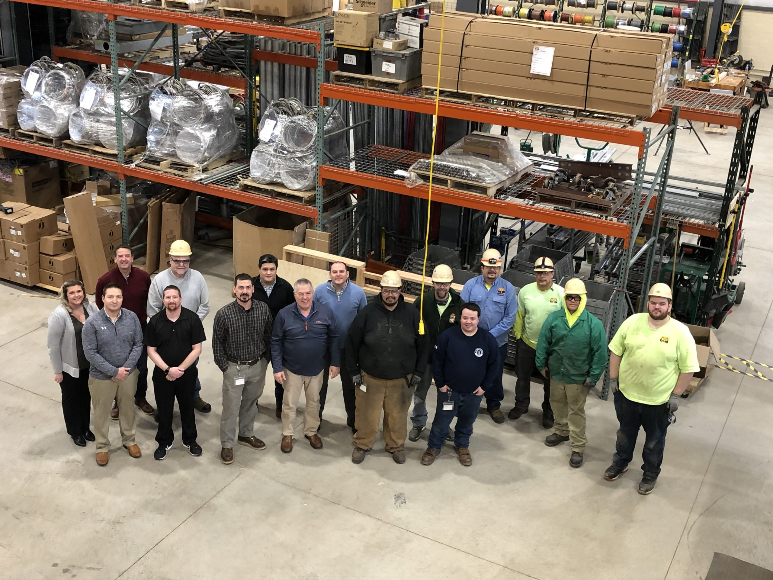Tri-M Group's Prefab Services Wins Air Products Job