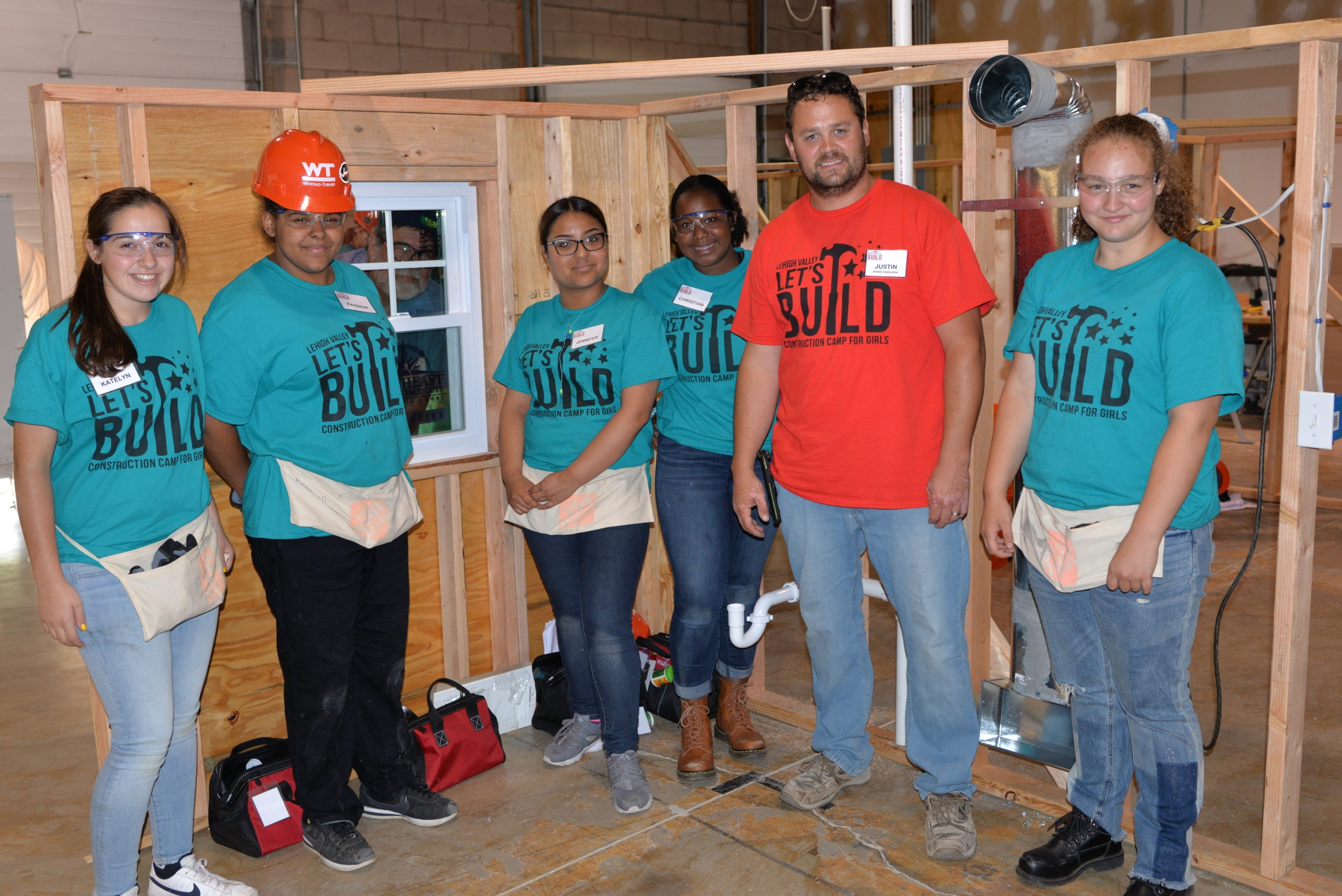 LEHIGH VALLEY LET'S BUILD CONSTRUCTION CAMP FOR GIRLS; A SUCCESSFUL SECOND YEAR